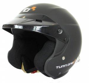 Каска Turn One Jet-RS черен мат