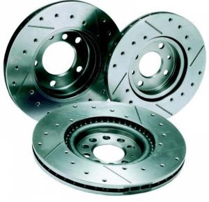 Вентилирани спирачни дискове заSUBARU от RedSpec