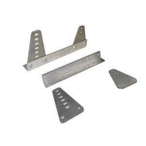 Стойки за седалка Turn One алуминий