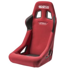 Седалка FIA SPARCO Sprint - (цвят: черен, син, червен)