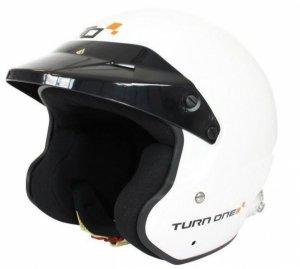 Каска Turn One Jet-RS бяла
