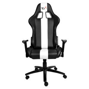 Офис стол Turn One черно и бяло