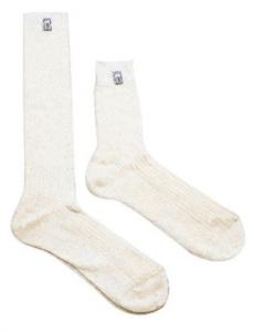 Бели чорапи Sparco FIA