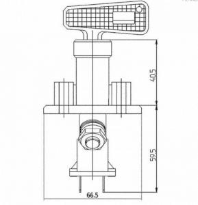 Ключ маса 6 полюса- 100A