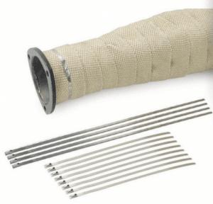 Заключващи връзки за термолента 200 mm Ø50