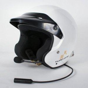 Каска Turn One Jet-R Intercom за разговорно PELTOR бяла