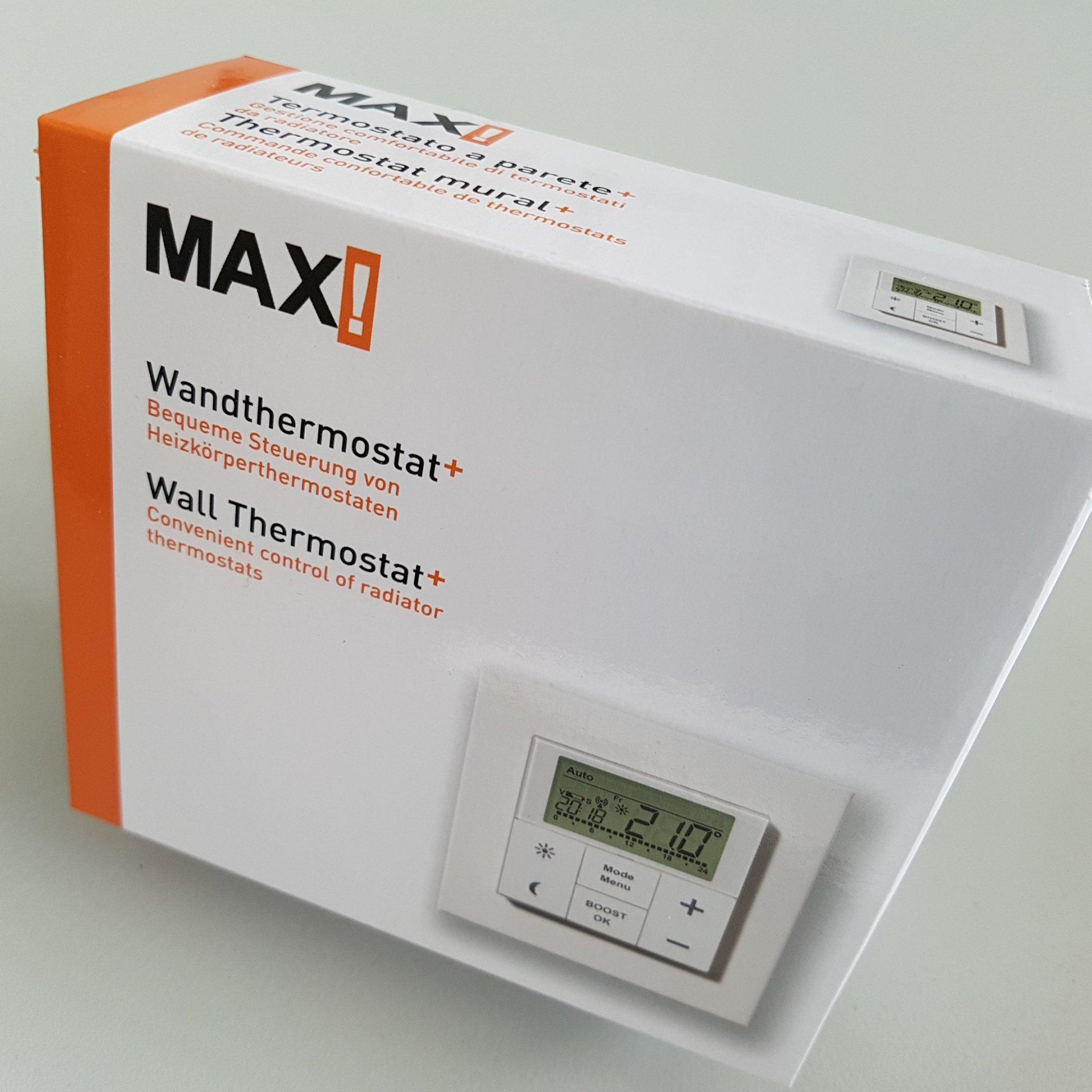 MAX! Стенен Термостат опаковка