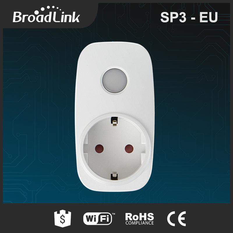 BROADLINK SP3S WI-FI -УМЕН WI-FI КОНТАКТ + Измерване на консумацията
