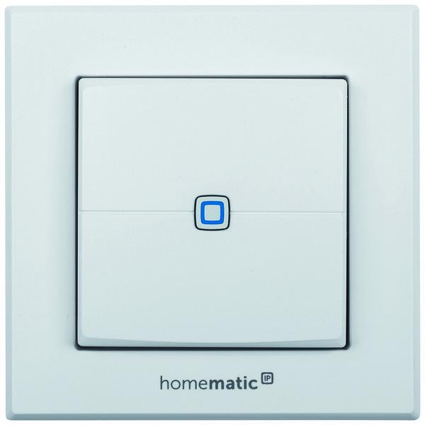 Homematic IP Безжичен стенен бутон - 2 бутона HMIP-WRC2