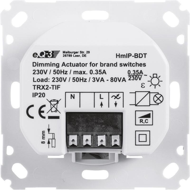 Homematic IP ключ за осветление с димиране HmIP-BDT