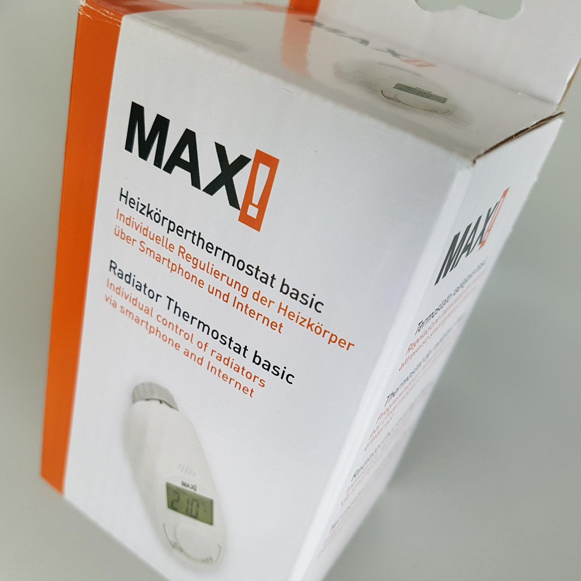 MAX! Пакет Класик 2 интелигентно парно на двустаен апартамент, 1хCube LAN, 2хЕлектронни термоглави с безжично управление