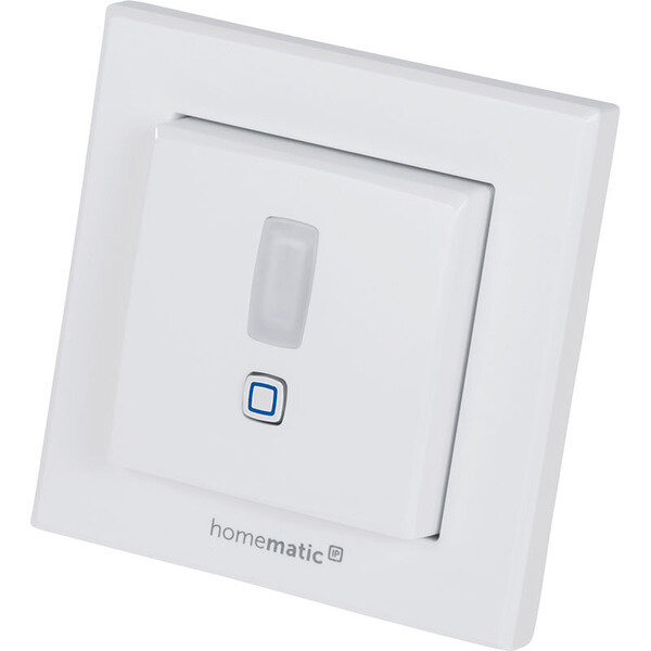 Homematic IP Безжичен стенен бутон - 2 канала със сензор за движение