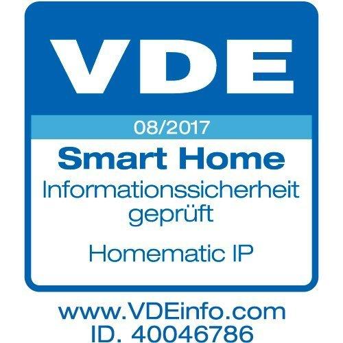 Homematic IP Стартов Комплект Аларма дим и пожар за Smart Home с Точка за достъп и 3 Детектора за дим и пожар
