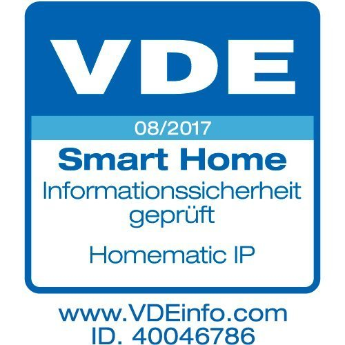 Homematic IP Сензор за прозорец-врата с оптичен контакт за Smart Home