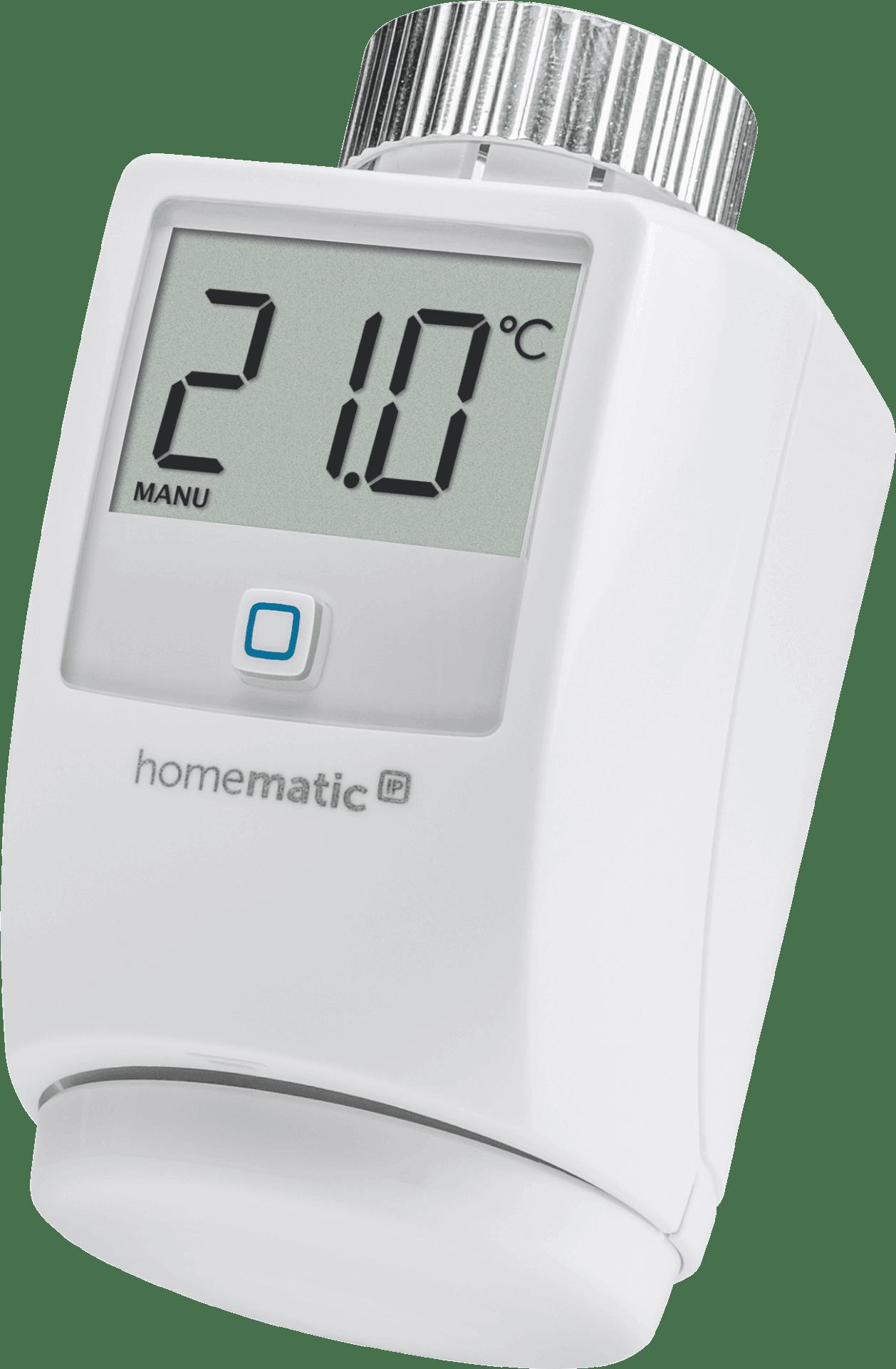 Homematic IP Термостатна безжична глава за радиатор/електронна термоглава/ за Smart Home