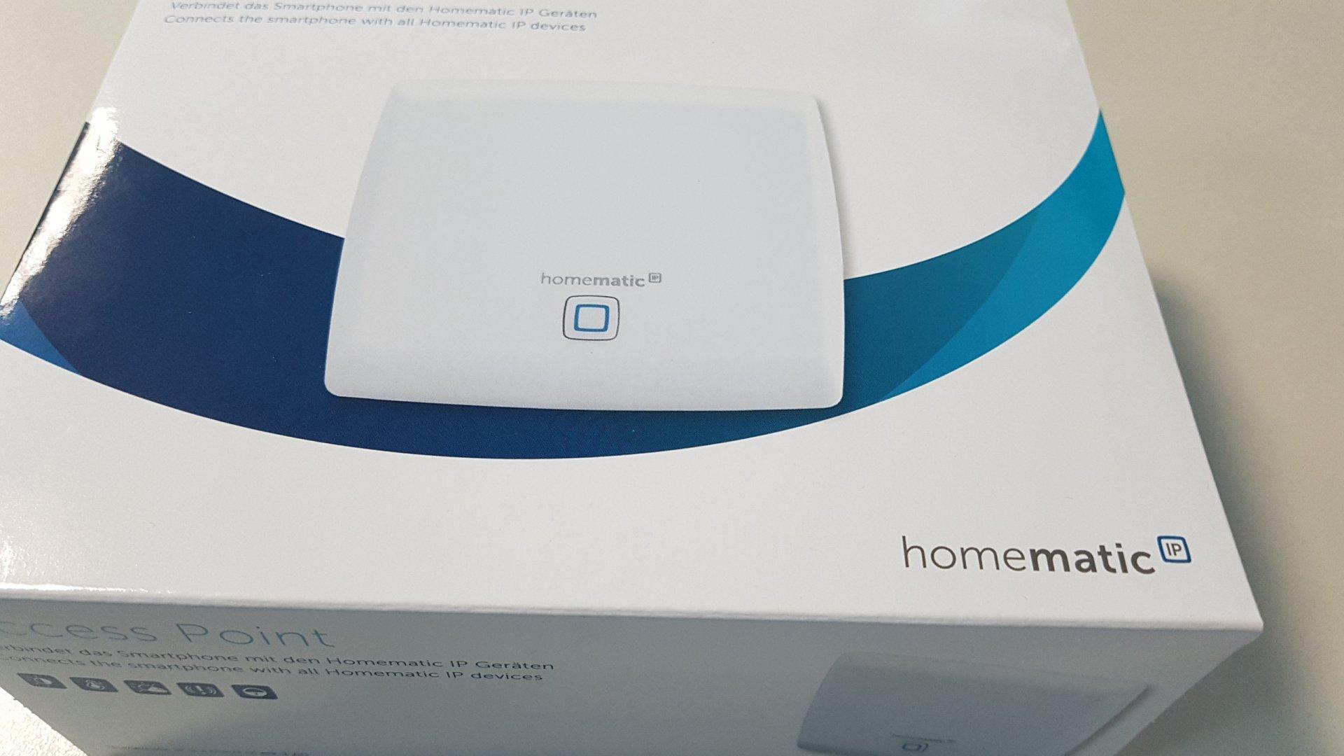 Homematic IP Access Point-Точка за достъп-централа на Smart Home