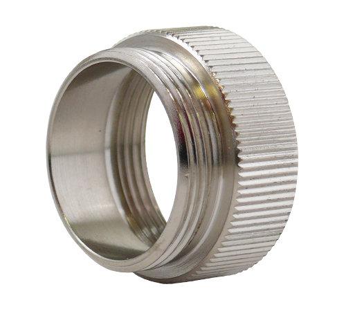 Адаптер за термостатичен вентил /метален никелиран/ М30х1,5