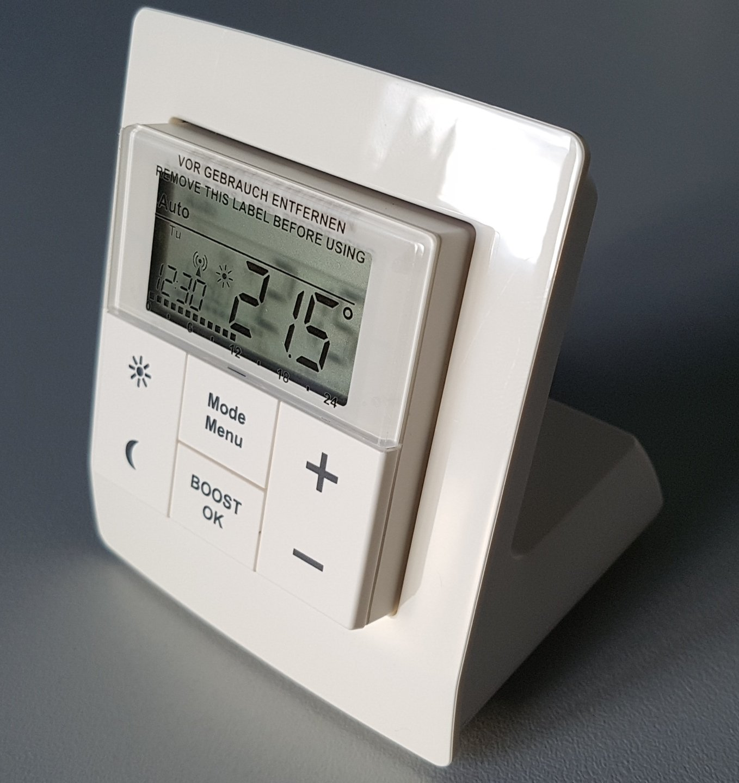 Homematic IP Настолна стойка за устройства 55мм / Стенен термостат , Бутон