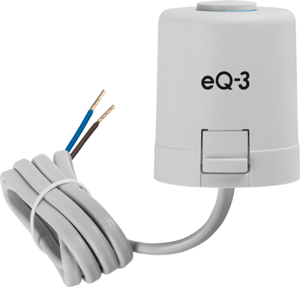 eQ-3 Термоелектрическа задвижка 230V NC Нормално затворена