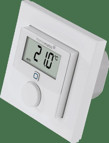 Homematic IP Стенен термостат с релеен изход за превключване - 230V