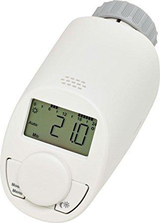 Енергоспестяваща електронна термоглава за радиатор тип N с функция за бързо загряване