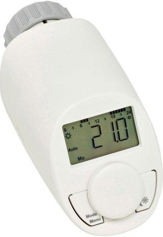 Енергоспестяваща електронна термоглава за радиатор, тип N с функция за бързо загряване