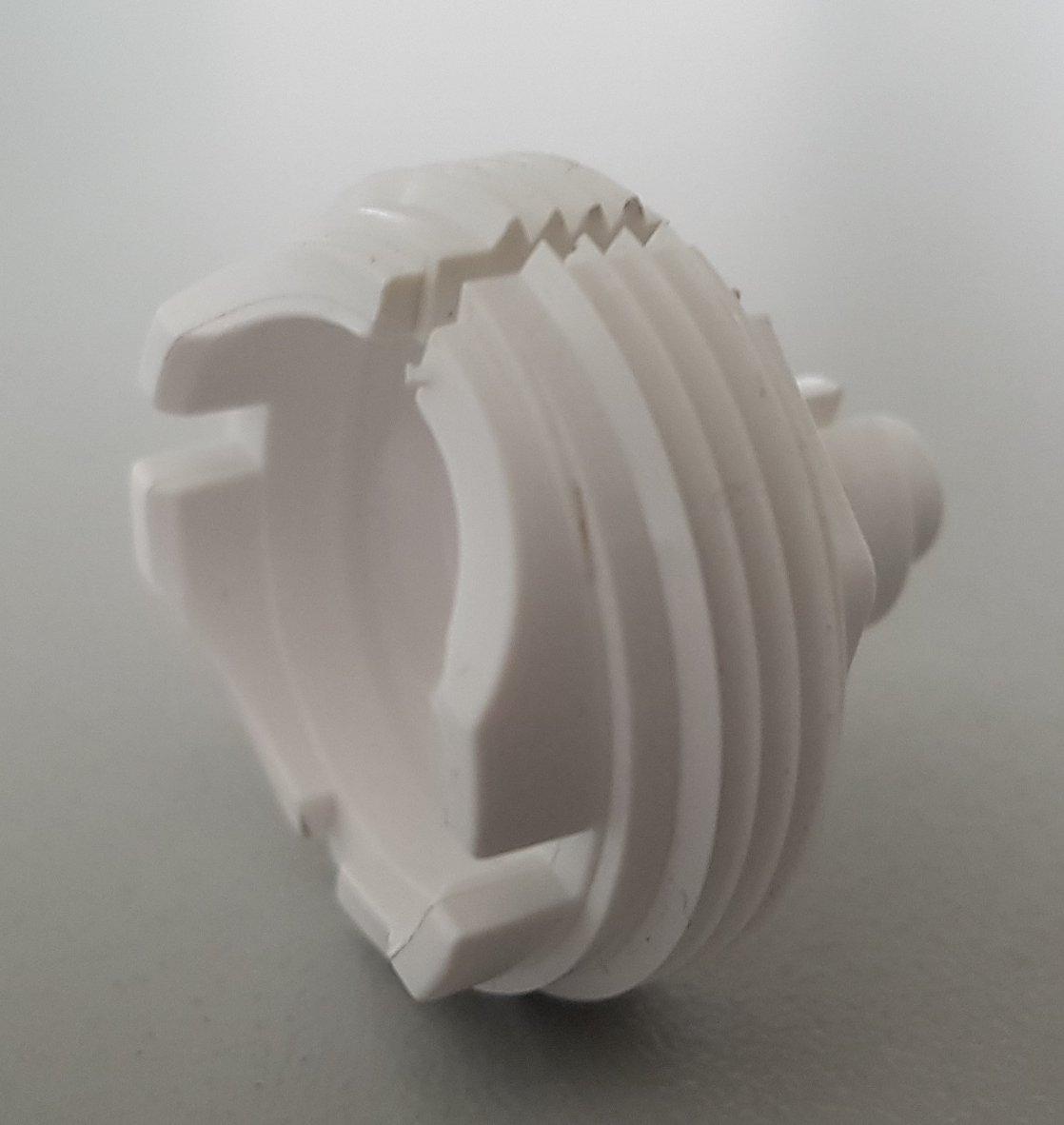 Адаптер за термостатичен вентил Giacomini CLAP-CLIP /M30x1,5/Пластмаса/