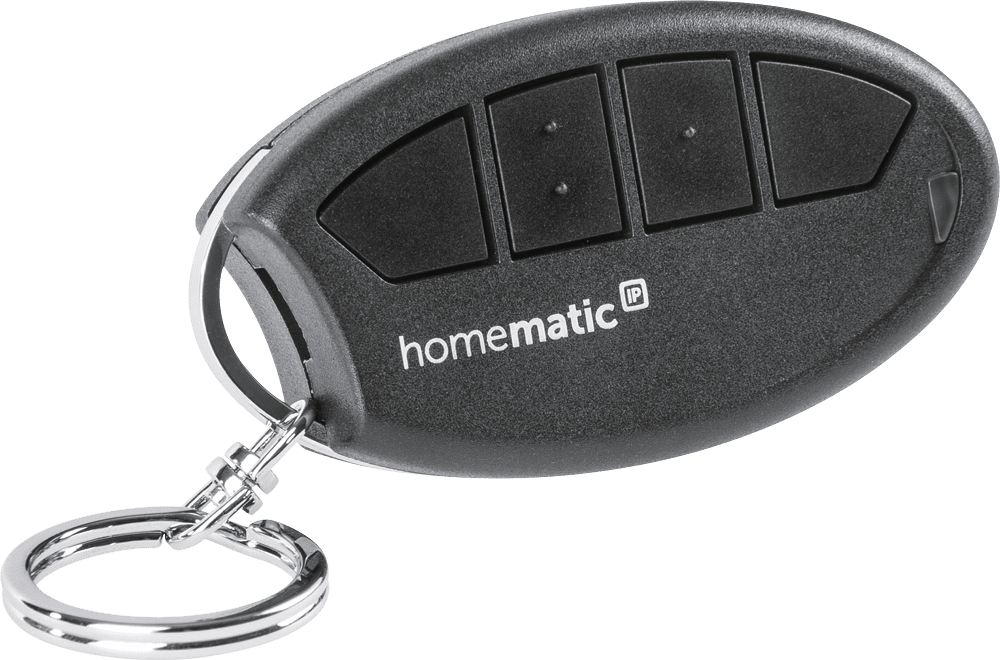 Homematic IP Дистанционно управление -ключодържател с 4 бутона за Smart Home