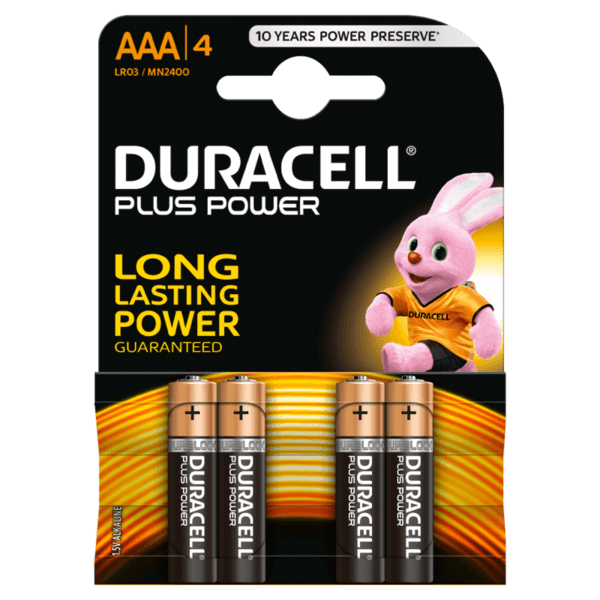 Duracell Батерии алкални LR03 / Micro / AAA x 4