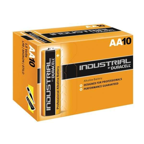 Duracell Батерии алкални LR6 / Mignon / AA x 10