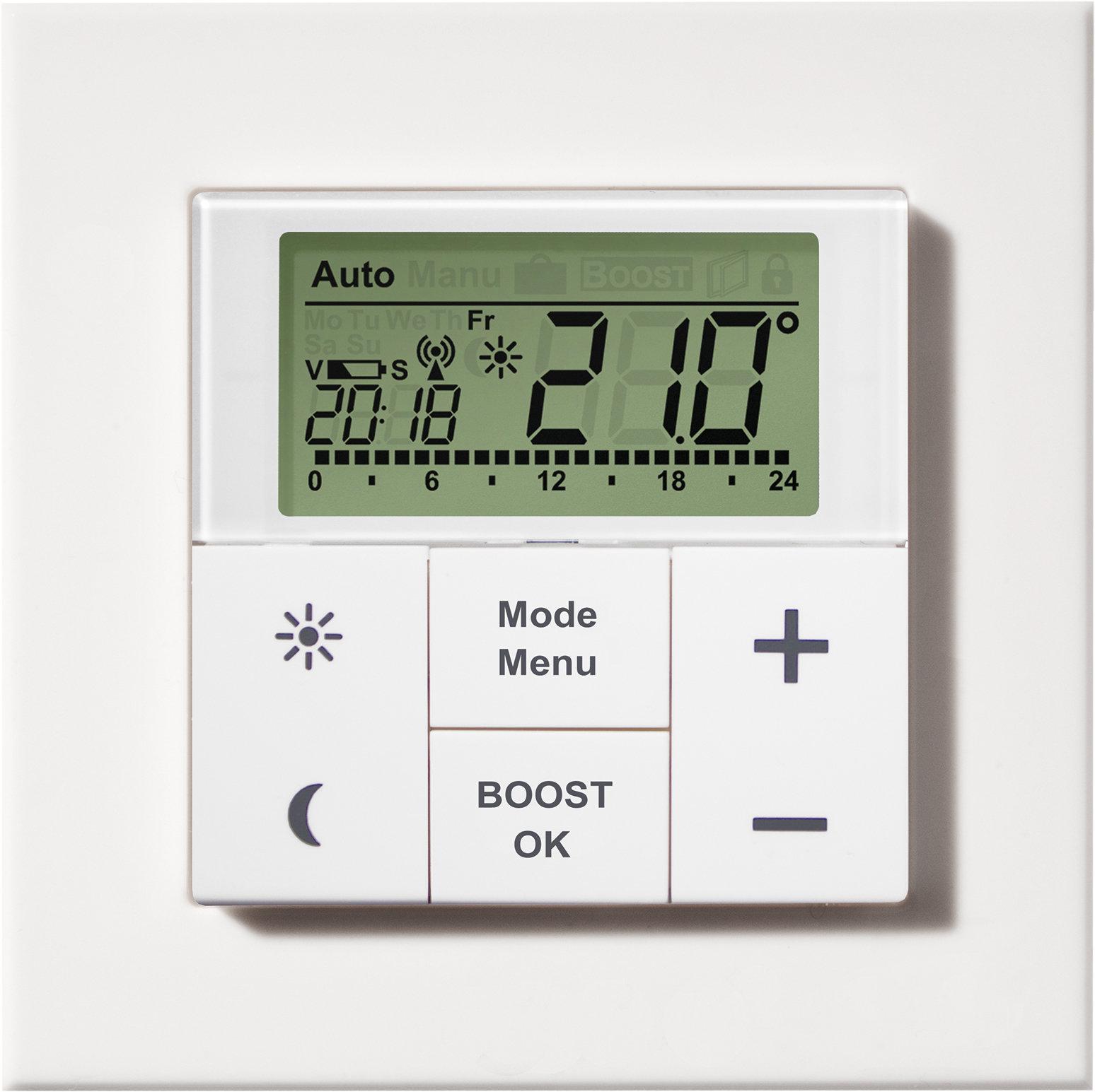 MAX! Безжичен стаен термостат с контролер за котел