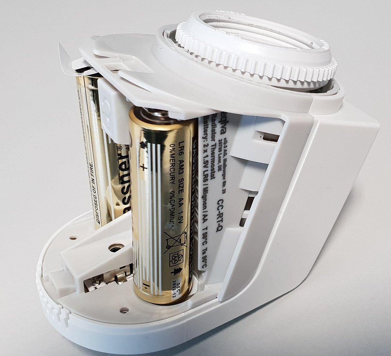Eлектронна термоглава за радиатор тип Q-мини