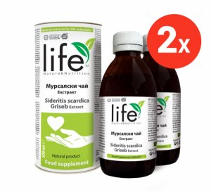 Промо пакет 2 броя екстракт от мурсалски чай за 25 лева