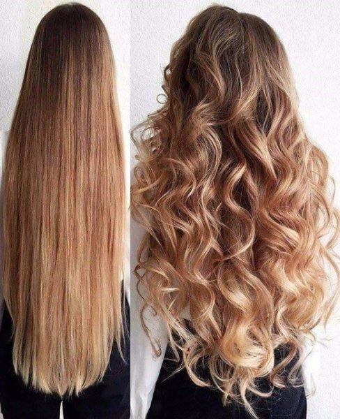 Комплекти за дълга коса Изображение