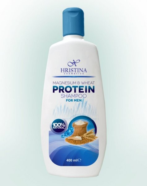 Шампоан срещу косопад с протеини и магнезий за мъже