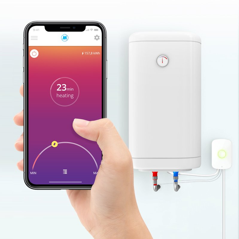 Smart Water Heater Controller Bobbie