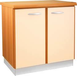 Кухненски шкаф долен модел L80 с 2 врати