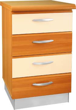Кухненски шкаф долен модел L50 с чекмеджета