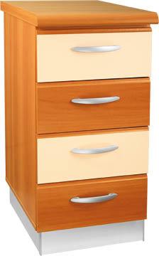 Кухненски шкаф долен модел L40 с чекмеджета