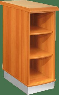 Кухненски шкаф долен модел L30 с рафтове