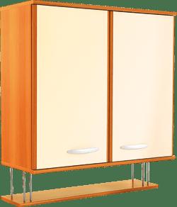 Кухненски шкаф горен модел L80 с рафт