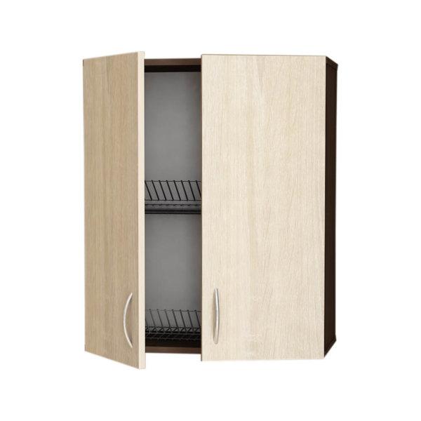 Кухненски шкаф Модест горен ВС-60/72 с две врати и отцедник