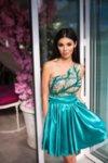 Мегз ЛИМИТИРАНА рокля с тюл и пайети