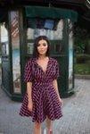 Мегз рокля/яке с принт