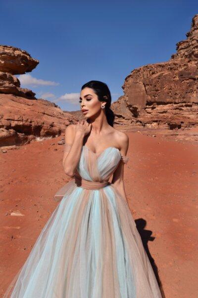 Мегз рокля омбре