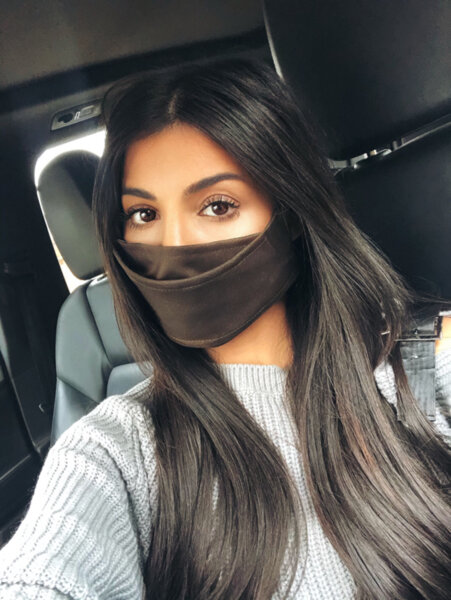 Дизайнерска маска за лице Browny