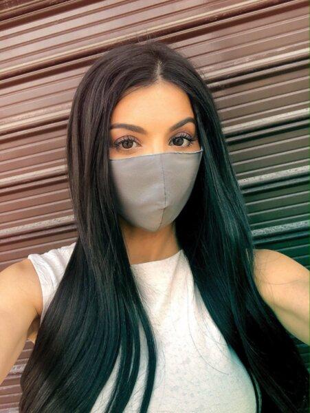3 слоя маска плат със сертификат за ВИРУСНИ ИНФЕКЦИИ сива