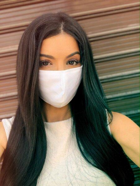 3 слоя маска плат със сертификат за ВИРУСНИ ИНФЕКЦИИ бяла