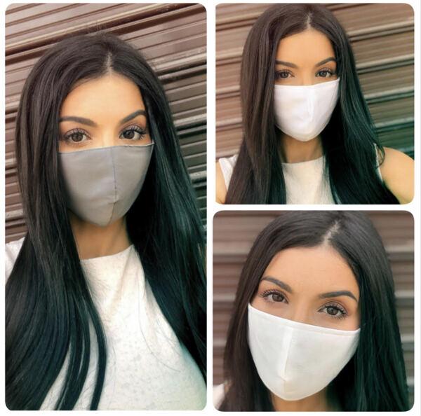 Сет от 3 броя маски от плат със сертификат срещу ВИРУСНИ ИНФЕКЦИИ без право на избор за цвят