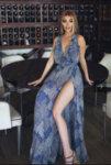 Мегз рокля с принт и харбали-Copy